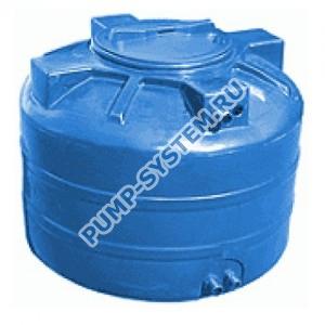Бак для воды Акватек ATV-1500 (синий) с поплавком (Миасс)