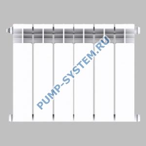 Алюминиевый радиатор SMALT S8013 350 (4 секции)