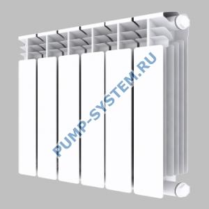 Алюминиевый радиатор SMALT S8017 500 (8 секций)