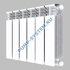 Алюминиевый радиатор SMALT S8017 500 (4 секции)