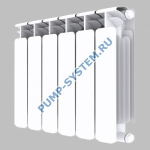 Биметаллический радиатор SMALT S8020 500 (6 секций)