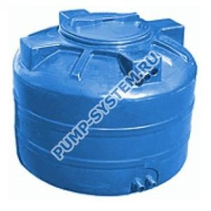 Бак для воды Акватек ATV-500 (синий) с поплавком (Миасс)