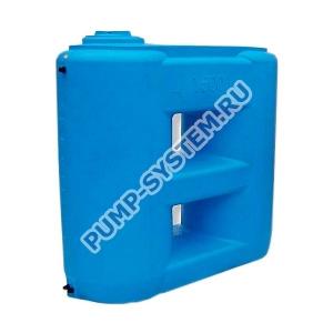 Бак для воды Акватек Combi W-1500 (синий) с поплавком (Миасс)