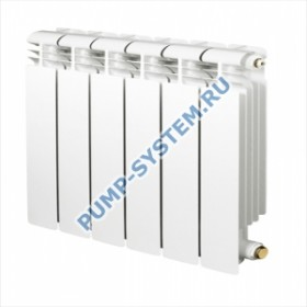 Радиатор алюминиевый Elegance 2,0 350 (8 секций)