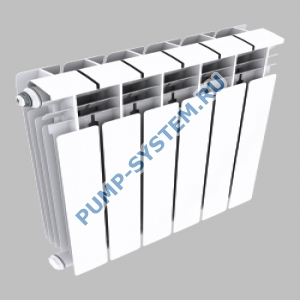 Алюминиевый радиатор SMALT S8018 500 (4 секции)