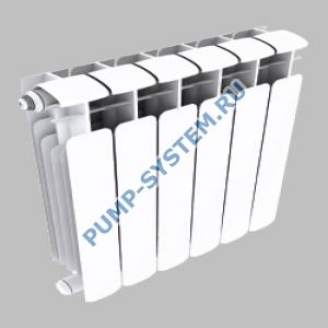 Биметаллический радиатор SMALT S8003 300 (6 секций)