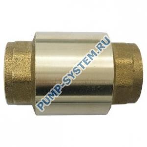 Клапан обратный Ду40 пружинный 3001 Aquasfera