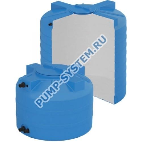 бак для воды aquatech atv-1000 bw сине-белый с поплавком