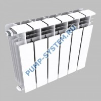 Алюминиевый радиатор SMALT S8018 500 (8 секций)