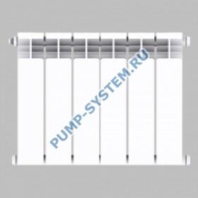 Алюминиевый радиатор SMALT S8013 350 (6 секций)