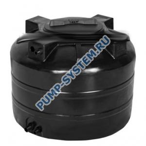 Бак для воды Акватек ATV-500 (черный) с поплавком (Миасс)