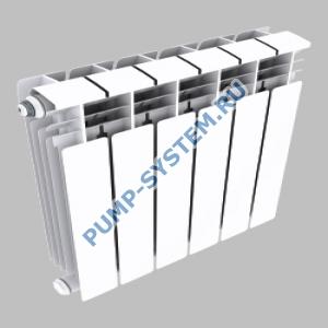 Алюминиевый радиатор SMALT S8018 500 (12 секций)