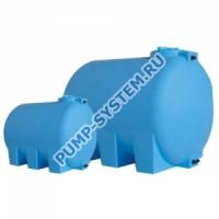 Бак для воды Акватек ATH 1500 (синий) с поплавком