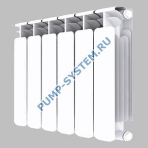 Биметаллический радиатор SMALT S8002 500 (6 секций)