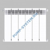 Алюминиевый радиатор SMALT S8013 350 (10 секций)
