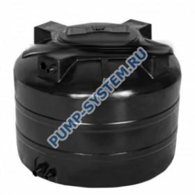 Бак для воды Акватек ATV-1500 (черный) с поплавком (Миасс)