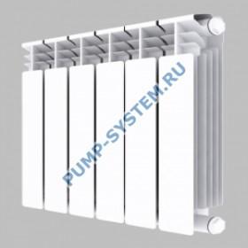 Алюминиевый радиатор SMALT S8017 500 (6 секций)